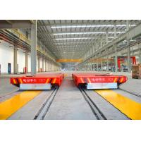 Quality Busbar powered rail transfer bogie for steel plate handling bay to bay for sale