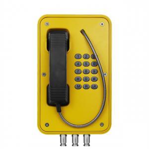 Quality Watertight Industrial Weatherproof Telephone For Railway Platform / Highway Side for sale