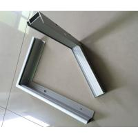 Quality T5 / T6 6000 Series Anodized Aluminum Solar Panel Frame ISO9001 Certification for sale