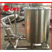 Buy Moveable Cip Cleaning System Commercial , Washing Machine Flat Bottom at wholesale prices