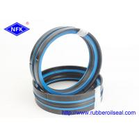 Quality Dustproof Lip Hydraulic Jack Piston Seal Polyester Elastomer Back - Up Ring 40Mpa Pressure for sale