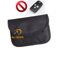 Quality Car Keyless Blocking Bag,RFID Signal Shielding Block Jammer Pouch,Car Protector Anti Car Thief,Remote Can not Read for sale