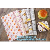 Printed deli food wrapping wax paper wrap Wholesale from China,Butter Wrapping Paper Greaseproof Paper Food Grade Paper
