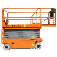 Quality 450KG Heavy Duty Scissor Lift Table , Maximum Working Height 8m To 12m for sale