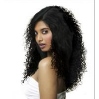 Quality 30 Inch Virgin Cambodian Hair / Virgin Curly Hair Extensions Long Hair for sale