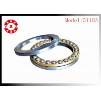 Quality Chrome Steel 51103 Original Ball Bearing Koyo For Pump Machine for sale