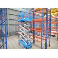 China Straight Aerial Tilting Heavy Duty Scissor Lift Dimensional Stable Outdoor Applied on sale
