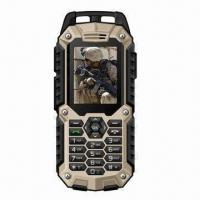 Quality IP67 Waterproof Mobile Phone with Dual-SIM Card and GPS Navigation for sale