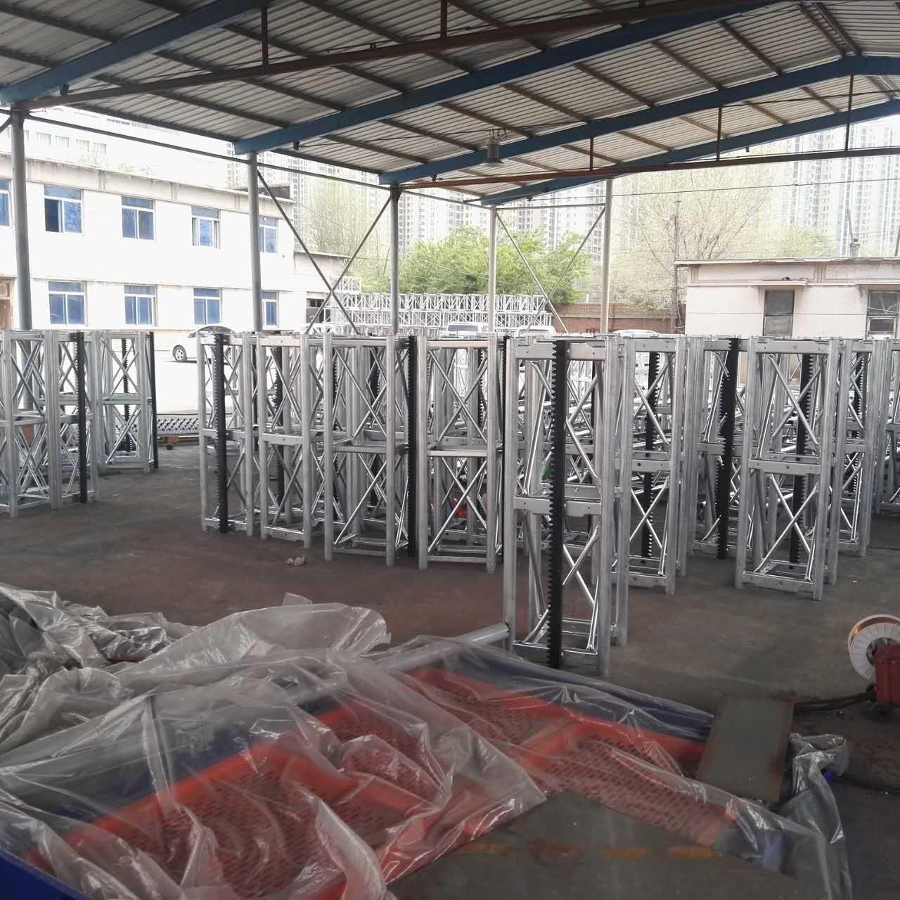 Quality CE Customized Color 450 Mast Industrial Lift With Motor Power 2x15kw, 400kg Lifting Device for sale