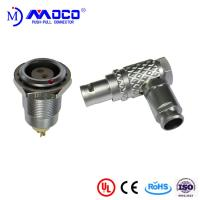 Buy M9 2 pin right angle male and female push pull connectors for Thermal imaging camera at wholesale prices