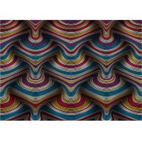 Quality 3D Effect Vinyl Coated Wallpaper Designs For Living Room Eco - Friendly for sale