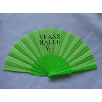 Quality Fabric Fan / Advertising Fan / Plastic Fan for sale