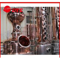 Quality 1700L manual industrial alcohol distillation equipment 1 - 3layers for sale