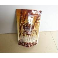 Quality plastic bag coffe bag stand up bag with valve for sale