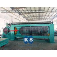 Buy Heavy Duty Gabion Mesh Machine Net Weaving Machine 80x100mm Netting Width 4300mm at wholesale prices