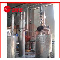 Quality 500L Commercial Alcohol Distilling Equipment Semi-Automatic PED for sale