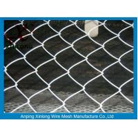 Quality 60*60mm Diamond Chain Link Mesh Fence For Agriculture ISO Standard for sale