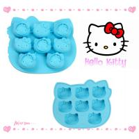 Quality non-toxic odorless silicone cake mold Hello kitty For Home , Hotel for sale