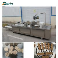 Quality Siemens PLC Auto Control Energy Bar Manufacturing Equipment Cereal Bar Forming for sale