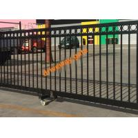 Quality Remote Control Sliding Gate / Driveway Automatic Security Gates Factory for sale