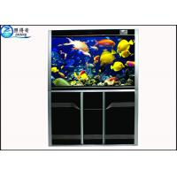 Buy Simple High-end Custom Aquarium Fish Tank , Automotive Float Glass Fish Aquarium at wholesale prices