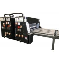 Buy Water Ink Printing Slotting Die Cutting Machine Semi Automatic Grade For Carton Box at wholesale prices