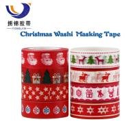 Quality 1 inch washi tape Gift Wrapping,Decoration washi masking tape for sale