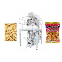 Buy cheap 10 Heads Weigher Automated Packing Machine for Snacks / Peanuts , Easy Operation from wholesalers