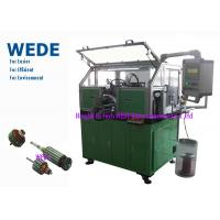 China Dc Motor Copper Wire Coil Winding Machine For Home / Automobile Rotor Hook Commutator on sale