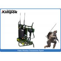 Buy Military Backpack COFDM Video Transimtter 720P Wireless Long Rang Surveillance at wholesale prices