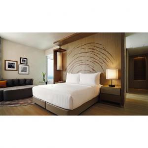 Quality Durable 3 Star Hotel Hotel Bedroom Furniture Sets / Full Size Bedroom Sets for sale