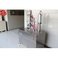 Quality Refrigerant Freon Under Cap Vacuum Semi Automatic Aerosol Filling Machine For R134a / R410a / R22 for sale