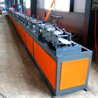 Buy cheap PPGI  PU  Foam Roller Shutter Door Roll Forming Machine With PLC Controled from wholesalers