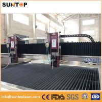 Quality Magnesium alloy metal water jet cutting machine with multiple heads for sale
