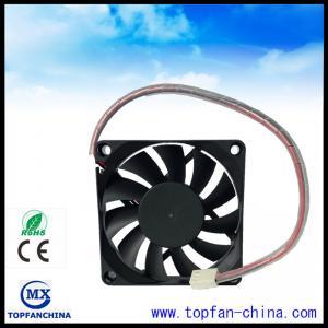 Quality Smart Fan Control For Car Cooling Sytem 12V 4500 RPM Cooling Fan 7015 Platics Frame and Impeller for sale