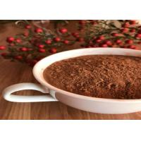 Quality Healthy Unsweetened Dark Brown Cocoa Powder , Alkalized Baking Cocoa Powder for sale