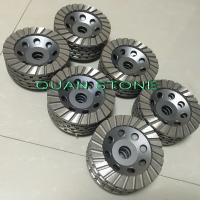 Buy cheap Ripple Cup Wheel Diamond Cup Wheel Aluminum Back Resin For Polishing from wholesalers