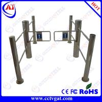 Quality GAT-612 Entrance and exit automatic IR sensor supermarket swing turnstile for sale