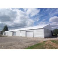 Quality Unique 35x50m Assembly Heavy Duty Tents With Roller Shutter Door for sale