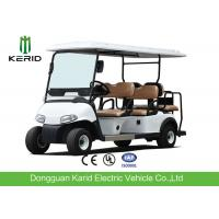 Quality Luxury Driving Cabin Club Car 6 Passenger Golf Cart With 2 External Rearview Mirrors for sale