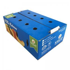 Quality Food Packaging Fruit Carton Box Cardboard Carton Kraft For Fruit Vegetable for sale