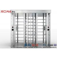 Quality Double Lane Security Controlled Turnstile Security Gates Rapid Identification for sale
