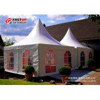 Quality Aluminum Frame 10x10 Festival Tent , Heated Tents For Party No Interior Poles for sale