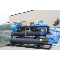 Quality Residential Air Conditioning Heat Recovery Unit Screw Water Cooled Chiller 90 -170 Tons for sale