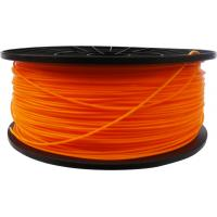 Quality 3d printer filament ABS 1.75mm 1kg Orange for sale