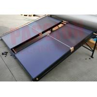 Quality Laser Welding Copper Tube Flat Plate Solar Collector for sale