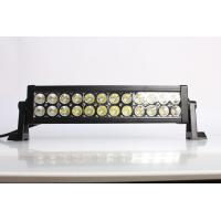 Quality IP67 13.5 Inch / 72W 4x4 Offroad Car Straight Double Row Epistar Led Light Bar for sale