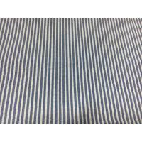 Quality Bed / Clothes Cotton Striped Seersucker Fabrics Durable 60+40*60 120*98 for sale