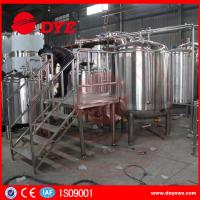 Buy Custom Homebrew Equipment Beer Brewing Systems High Efficient at wholesale prices