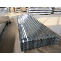 Quality SGCC, G550, JIS G3302 steel Regular Spangle Galvanized Corrugated Roofing Sheet / Sheets for sale